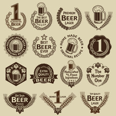 Vintage Collection Beer Seals & Marks