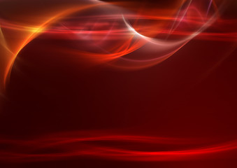 Awesome fiery red background
