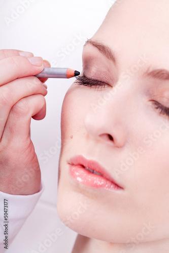 Fototapeten,frau,feminin,weiblich,makeup