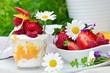Fruchtgenuss mit Quark im Sommer :)