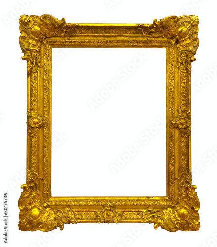 gold picture frame path