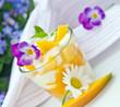 Sommerlich: Fruchtjoghurt mit Mango