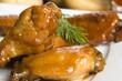 Roast chicken with honey