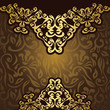 Vintage seamless background with an elegant lace pattern