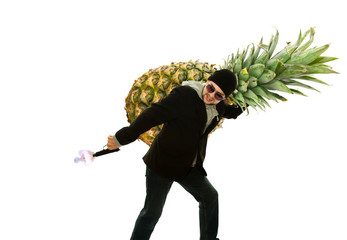 decorate a pineapple for a million dollars