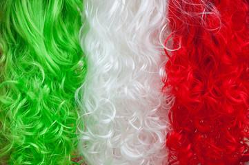 Tricolor wigs