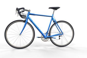 Blue Sport Bike