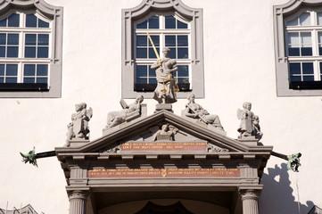 Rathaus Wittenberg Detail