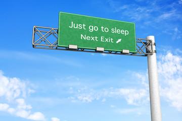 Nächste Ausfahrt - Schlafen