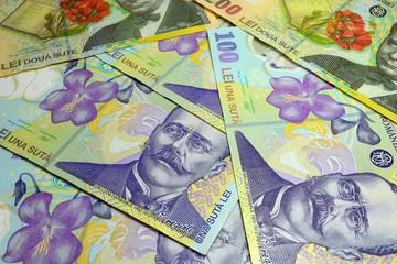 Romanian Lei Banknotes