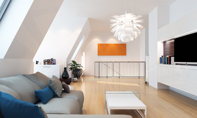 Moderne Wohnung - luxury loft apartment