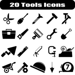 20 Tools Icons