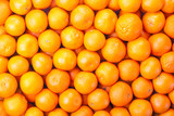 Tangerines as the background