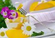 Sommer-Genuss: Dessert aus Mango und Joghurt
