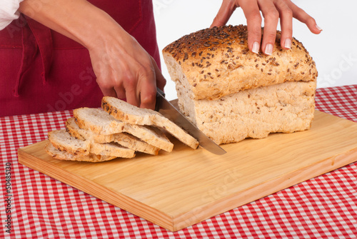 Whole sandwich bread