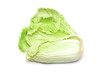 one whole chinese cabbage on a white background