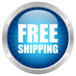 Vector free shipping guarantee icon