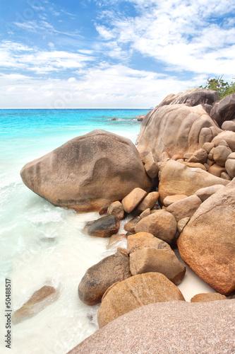 Fototapeten,seychelles,strand,insel,meer