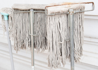 Old mop