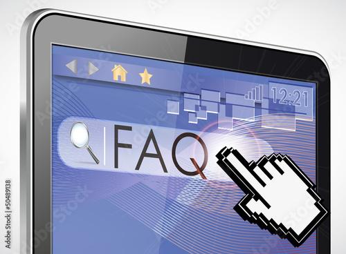tablette tactile 3d recherche : faq