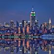 Fototapeten,new york city,manhattan,kaiserreich,landschaft