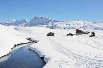 Melchsee-Frutt. Switzerland