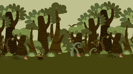 Cartoon Wald Animation