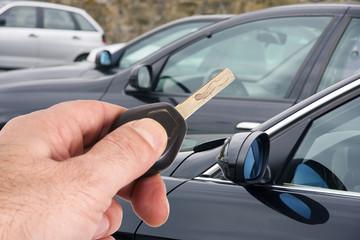 llave del coche
