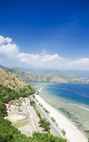 cristo rei beach in east timor