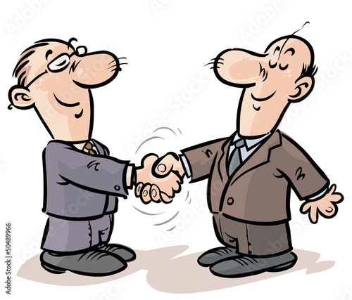 Businessmen Handshake.