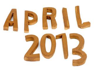 April 2013