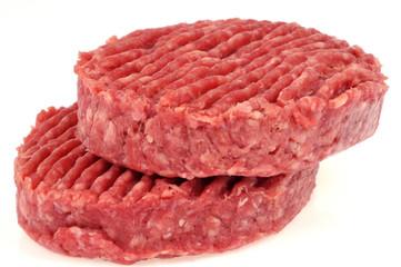 Steaks de boeuf haché