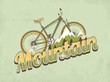 mountain bike background