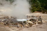 Fumarole thermal springs