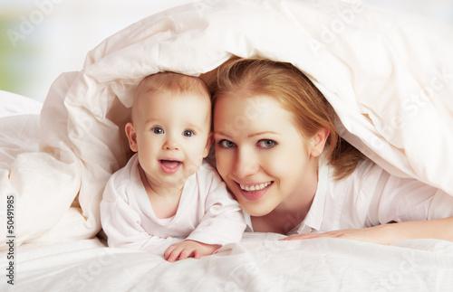 Fototapeten,familie,decke,mutter,baby