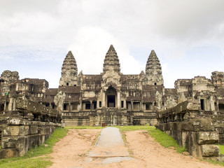 East entrance of Angkor Wat