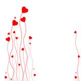 Fototapety Karte Valentinstag