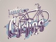 more cycling vector background,bicycle