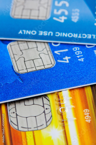 electronic chips on credit cards
