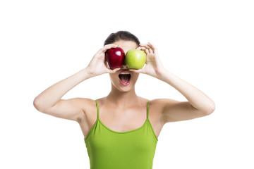 Looking apples