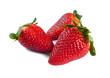 Erdbeeren Freisteller III
