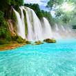 Leinwandbild Motiv Detian waterfall