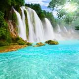 Detian waterfall