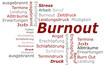 Burnout Stress Wörter Cloud