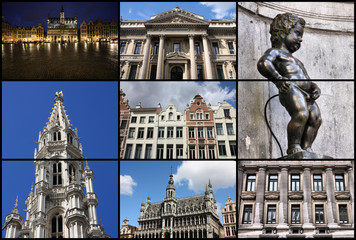 Brussels collage
