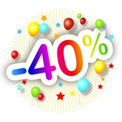 Festival de promos -40%