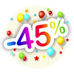 Festival de promos -45%