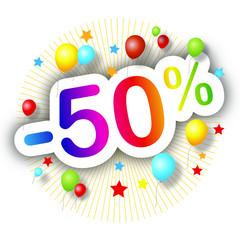 Festival de promos -50%