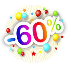 Festival de promos -60%