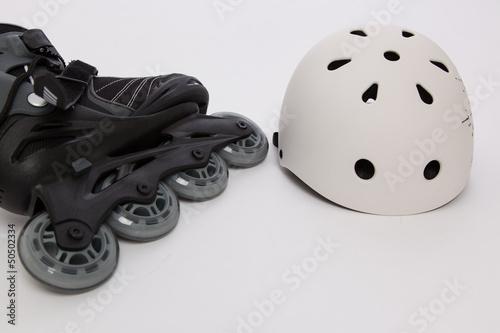 inline skates - Sicherheit durch Helm